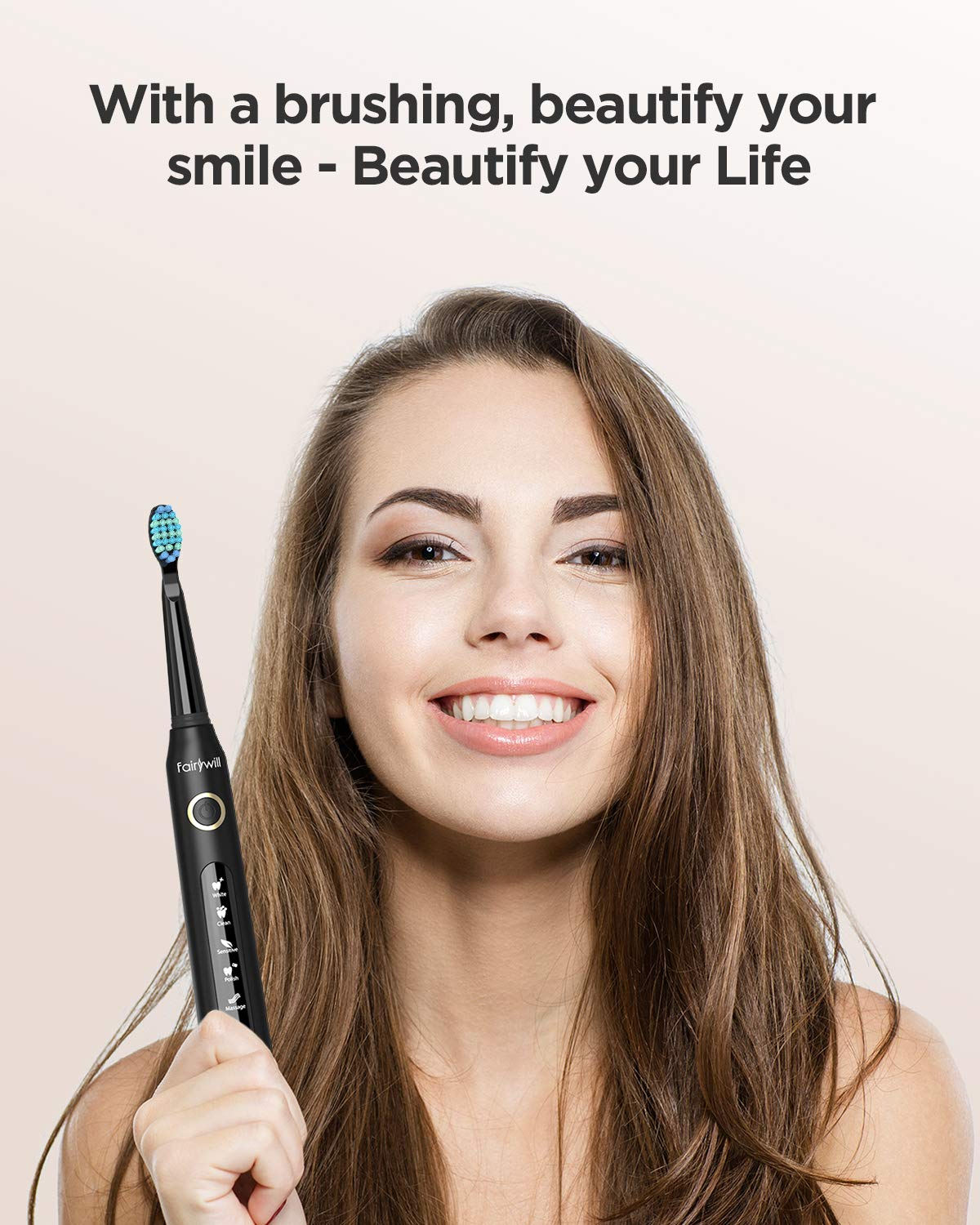 FairywillPowerful Cleaning Electric Toothbrush