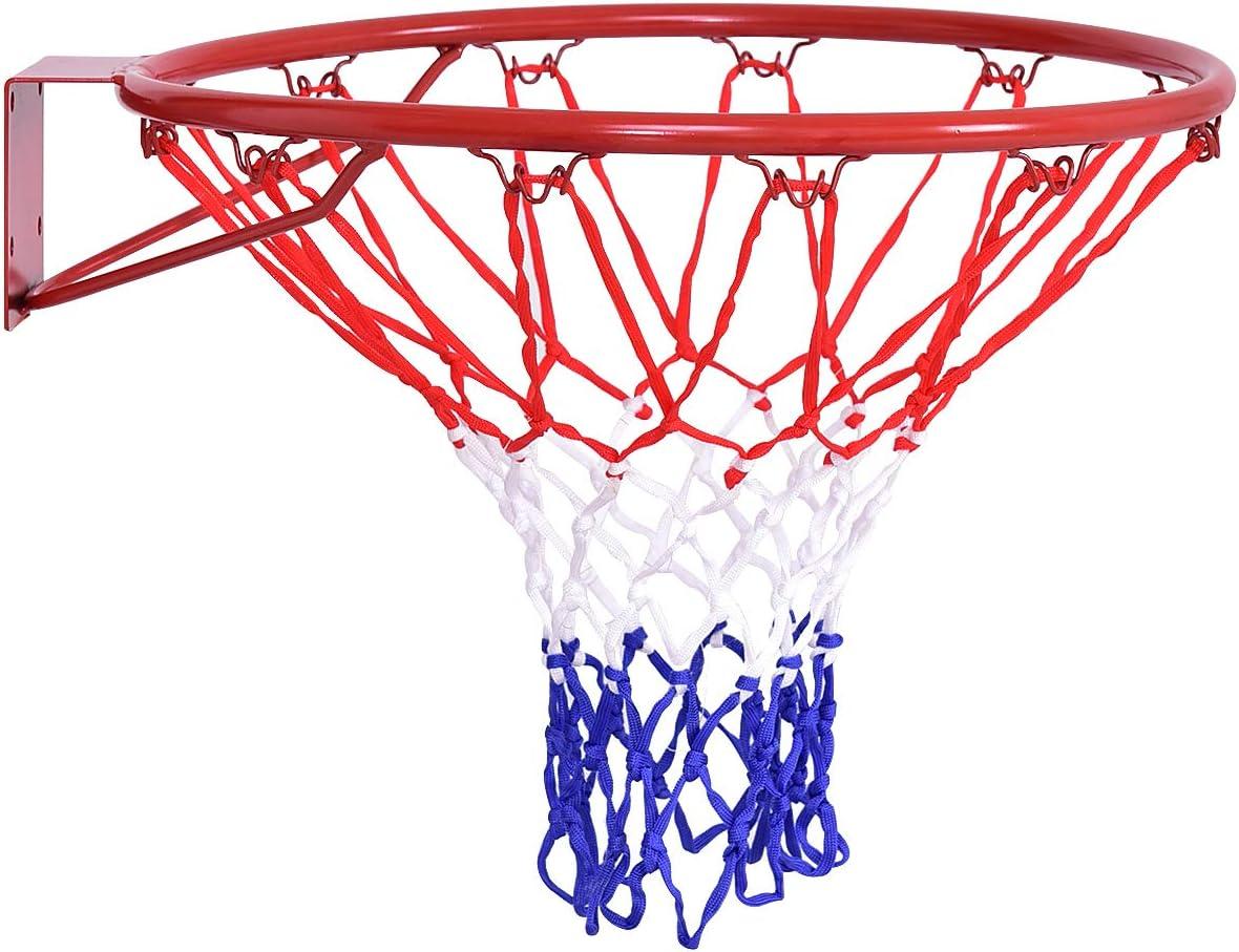 HangRing Basketball Hoop Nylon Thread Sports Basketball Hoop Mesh Net Backboard Rim Ball PUM