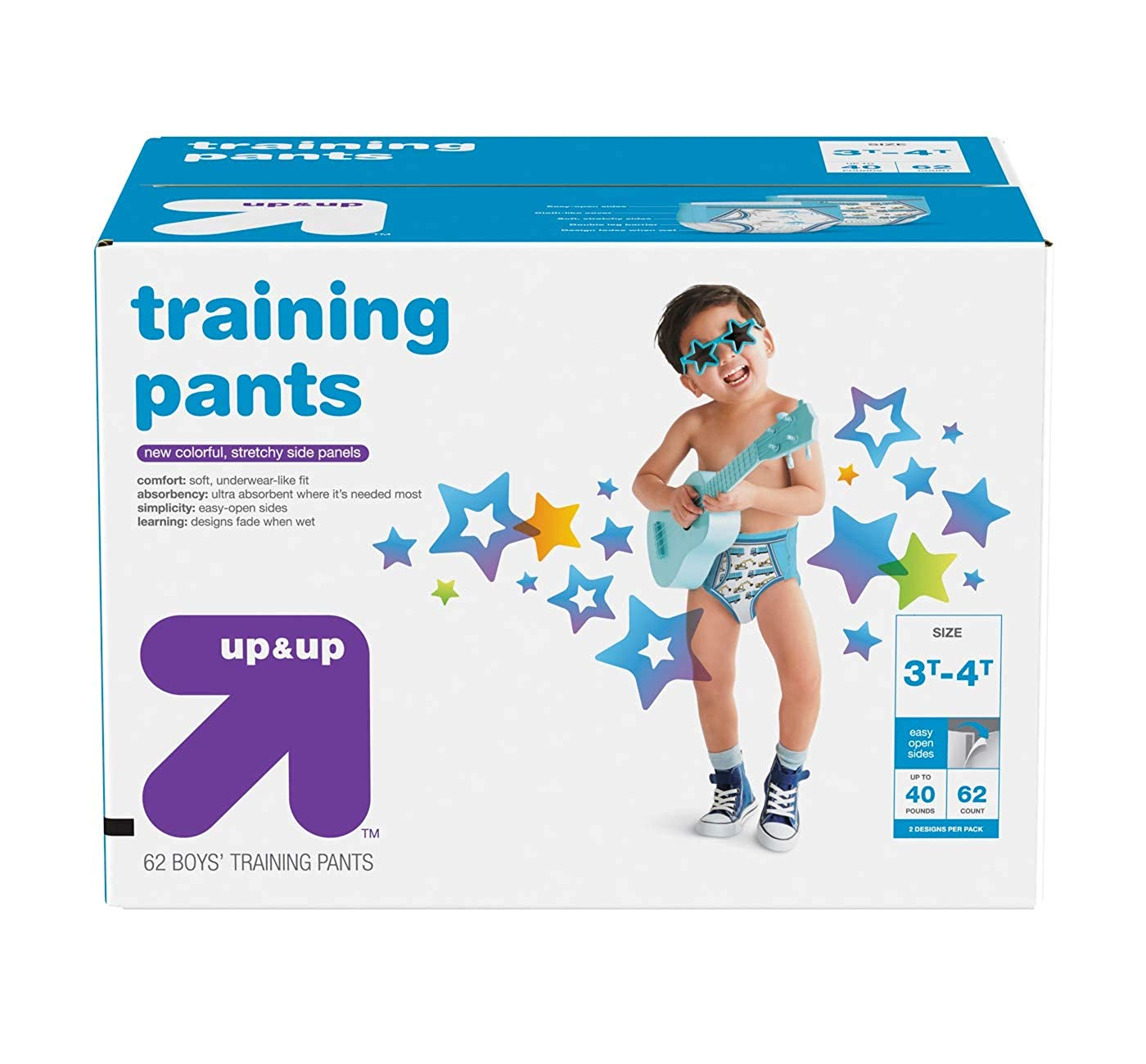 Up& Up Youth Pant Nighttime Underwear Toddler Kids Boys Training Pants, Giga Pack
