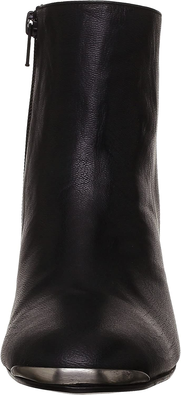 Boots à embout en métal Femme en cuir bordeaux   Jonak