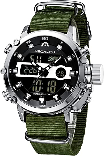 Orologio militari digitale sportivo cronografo led megalith  -vari colori JS-8051