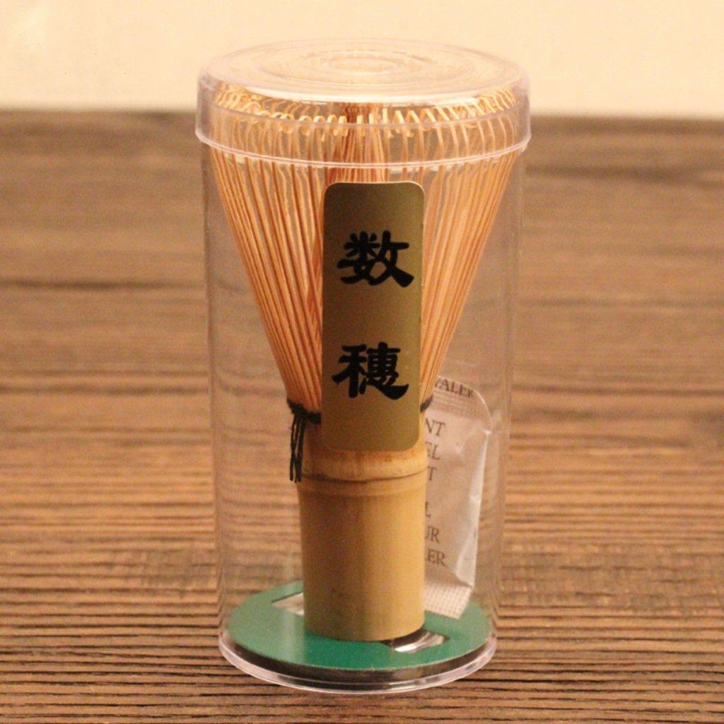 Matcha-Chasen-Fouet /à Matcha en Bambou Outil Fouet Th/é en Poudre-C/ér/émonie Japonais Th/é-Top Diam/ètre 55mm