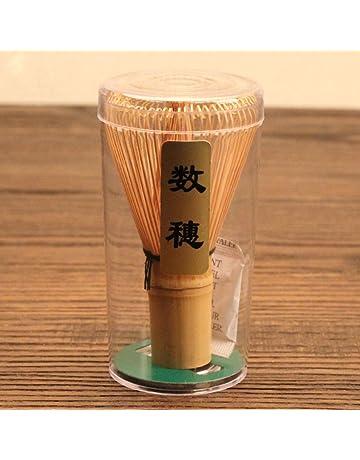 Chasen Bambú Herramienta Batidor de Polvo Matcha Té Japonés Accesorio Ceremonia 60-70