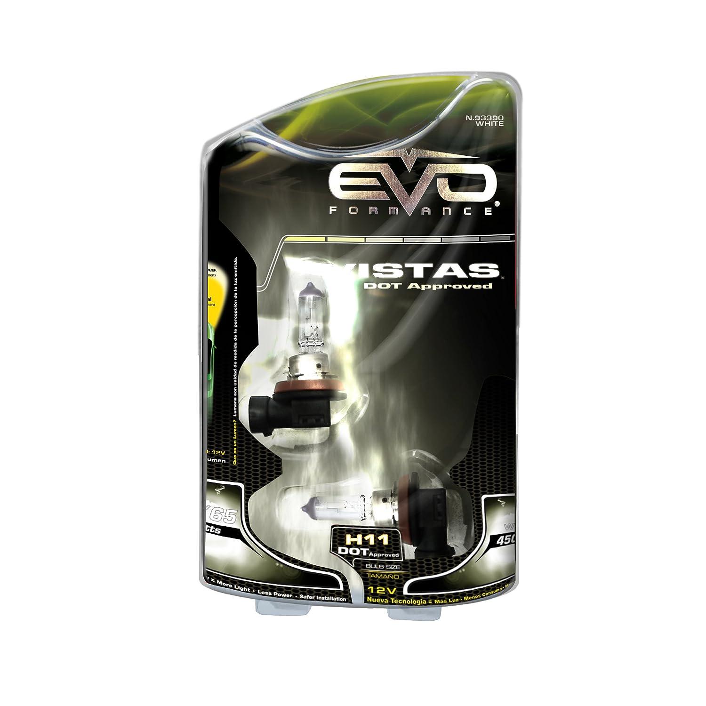 EVO 93390 Formance White 4500K Spectras Xenon H11 Bulb