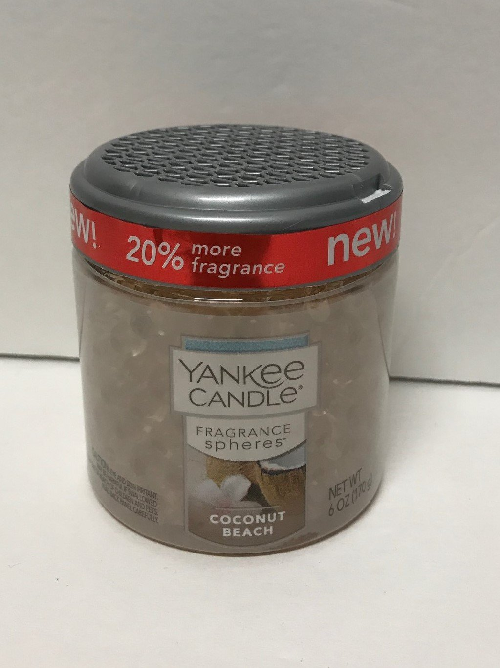 Yankee Candle Coconut Beach Fragrance Spheres, Fresh Scent