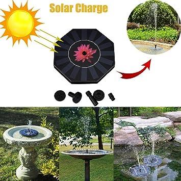 Y56 Octagon - Bomba de agua para fuente solar, funciona con energía solar, para