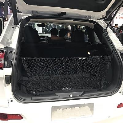 kaungka Cargo Net Nylon Rear Trunk Compatible for 2014 2015 2016 2020 2020 2020 Jeep Cherokee: Automotive
