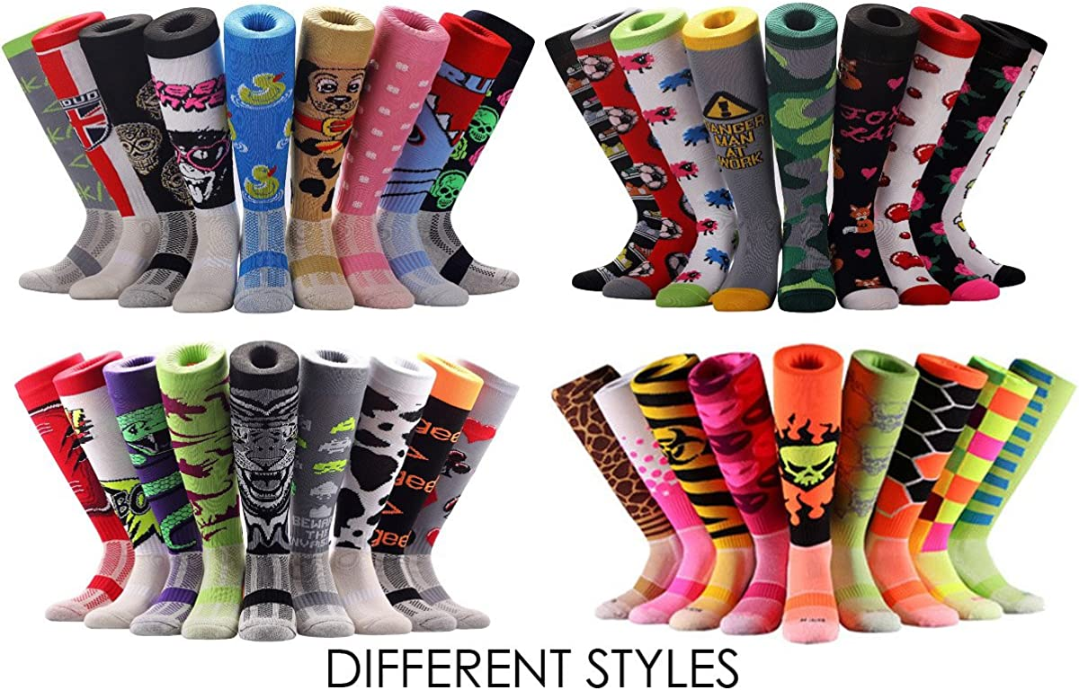 SAMSON® ZEBRA KNEE HIGH SOCKS ANIMALS STRIPED FOOTBALL RUGBY SPORT NOVELTY FUNKY