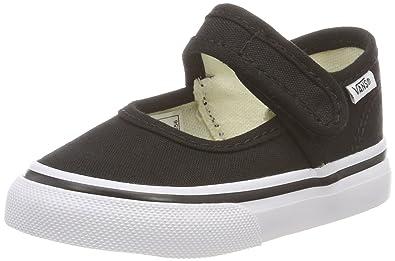 e5bd08f4fc Vans Td Mary Jane Blacktrue W Shoes 9.5 M US Toddler Black True White