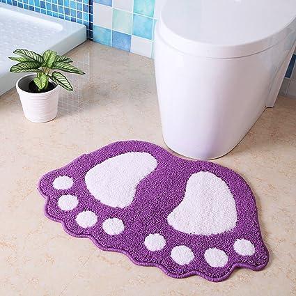 MOREY Almohadilla del pie Colchones absorbentes Alfombrillas de la puerta Cuarto de baño Alfombrilla antideslizante Dormitorio