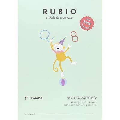 RUBIO VACACIONES - 1º PRIMARIA - 9788415971610 (Vacaciones RUBIO)
