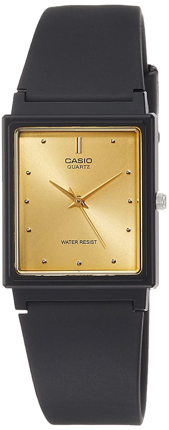 Amazon.com: MQ38-9A Mens Rectangular Classic 3-Hand Analog Watch: Casio: Watches