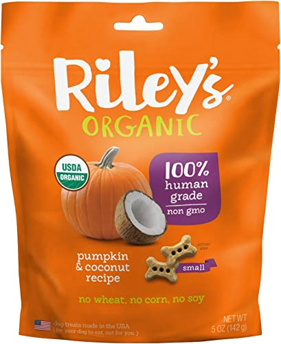 Riley S Organics Pumpkin And Coconut Bone, Small, 5 Oz.