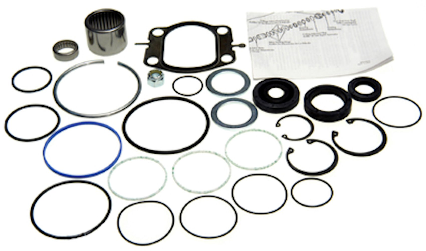 Edelmann 8522 Power Steering Gear Box Complete Rebuild 2004 Ford F 250 Super Duty Kit Automotive