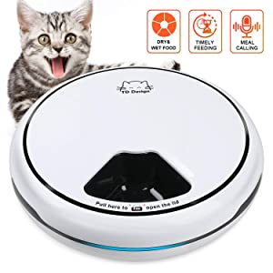 Automatic Timed Pet Feeder for Dogs Cats