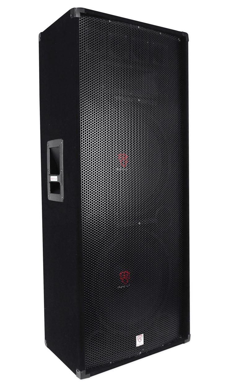 Rockville RSG15.28 Dual 15'' 3000 Watt 3-Way 8-Ohm Passive DJ/Pro PA Speaker