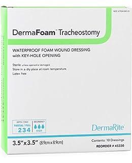 Amazon.com: Smith & Nephew 66027640 ALLEVYN tracheostomy ...