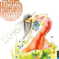 Masha D'yans 2016 Wall Calendar