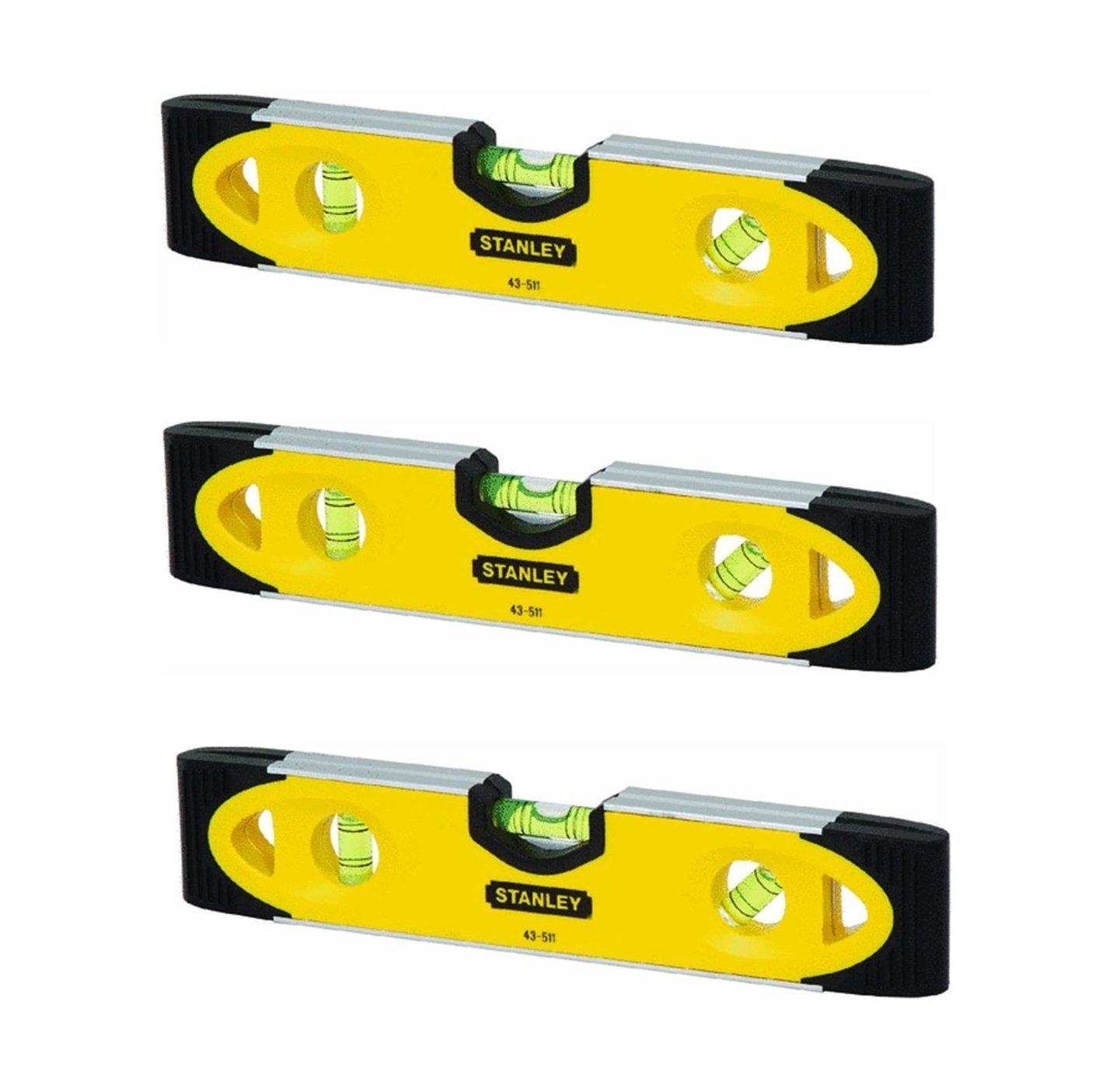Stanley 43-511 Magnetic Shock Resistant Torpedo Level - - Amazon.com for Spirit Level Parts  76uhy