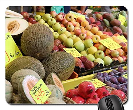 Amazon.com: Mouse Pads - Fruit Market Hall Palma Palma De ...
