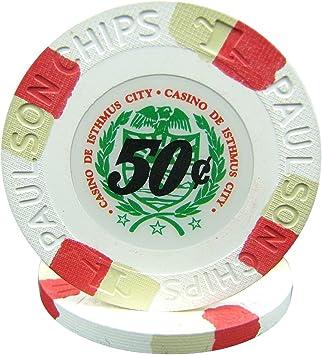 Casino De Isthmus City Poker Chips Paulson Top Hat /& Cane