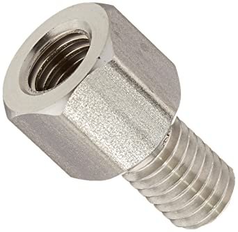 Female Clear Iridite 0.25 OD Pack of 5 8-32 Screw Size 3.5 Length, Lyn-Tron Aluminum