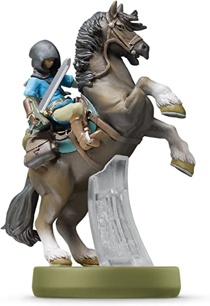 Amiibo Link Rider - The Legend Of Zelda: Breath of the Wild ...