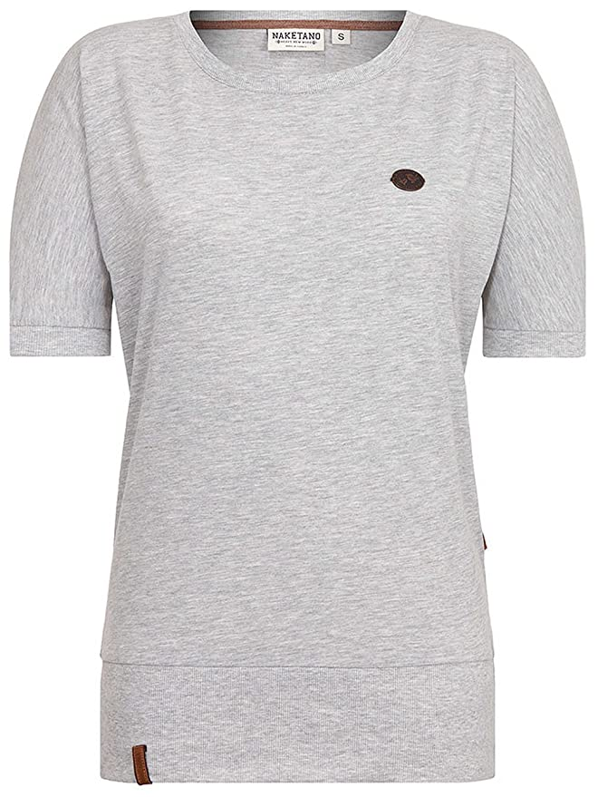 Naketano Damen T-Shirt Baunxxx Wit It T-Shirt  Amazon.de  Bekleidung d5ed022342