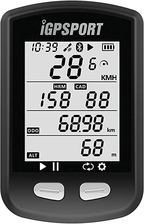 Ordenador GPS para bicicleta iGPSPORT iGS10 inalámbrico ANT+ ...