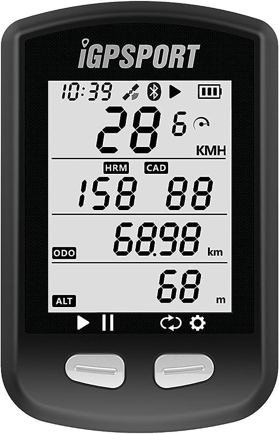 Igs10 Gps Fahrradcomputer Kilometerzähler Tachometer Fahrradcomputer Navigation