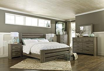 Amazoncom Signature Design By Ashley Zelen Bedroom Set With Queen
