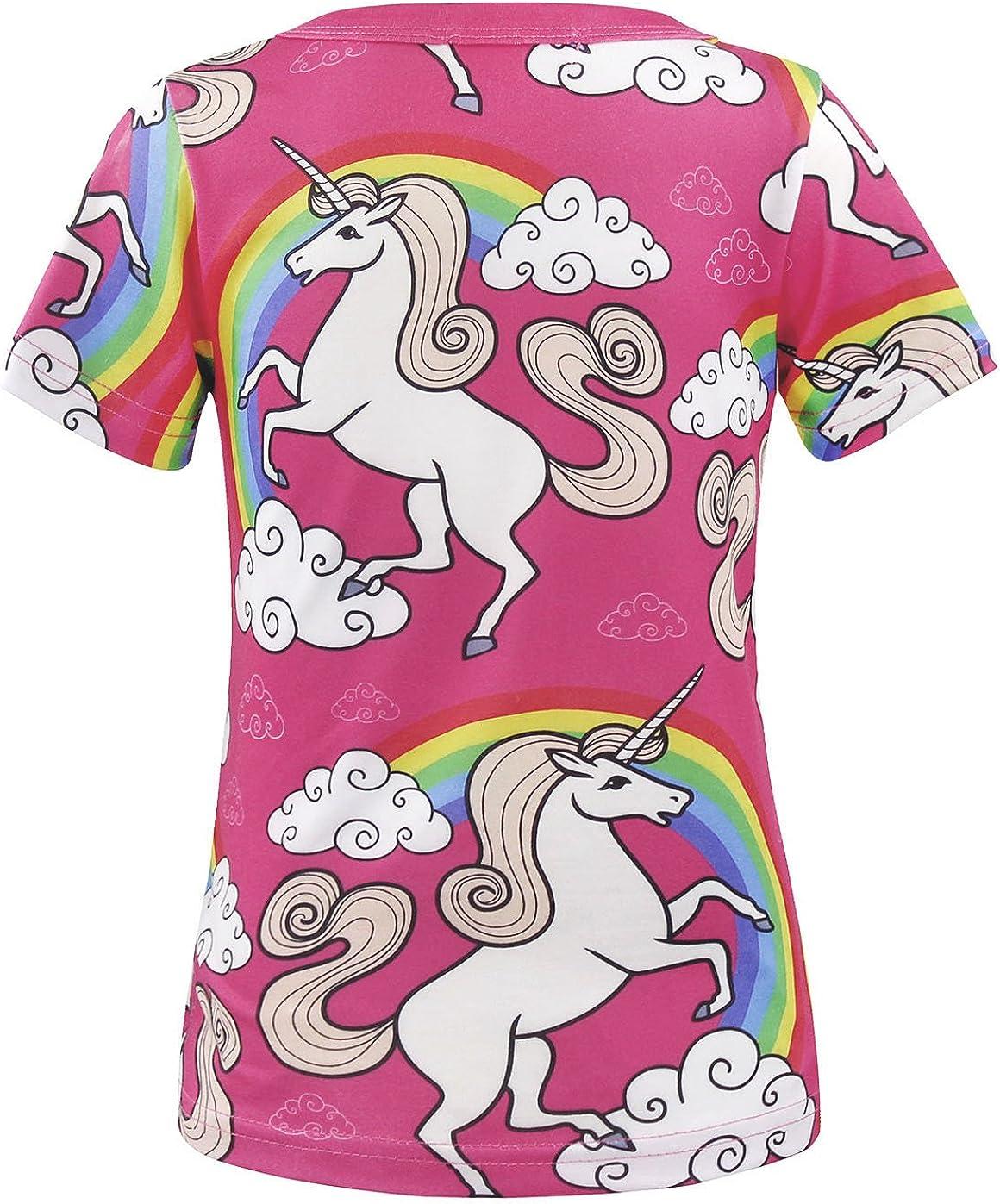 AmzBarley Unicornio Pijamas Ni/ños Ni/ñas Ropa de Dormir Halloween Cosplay