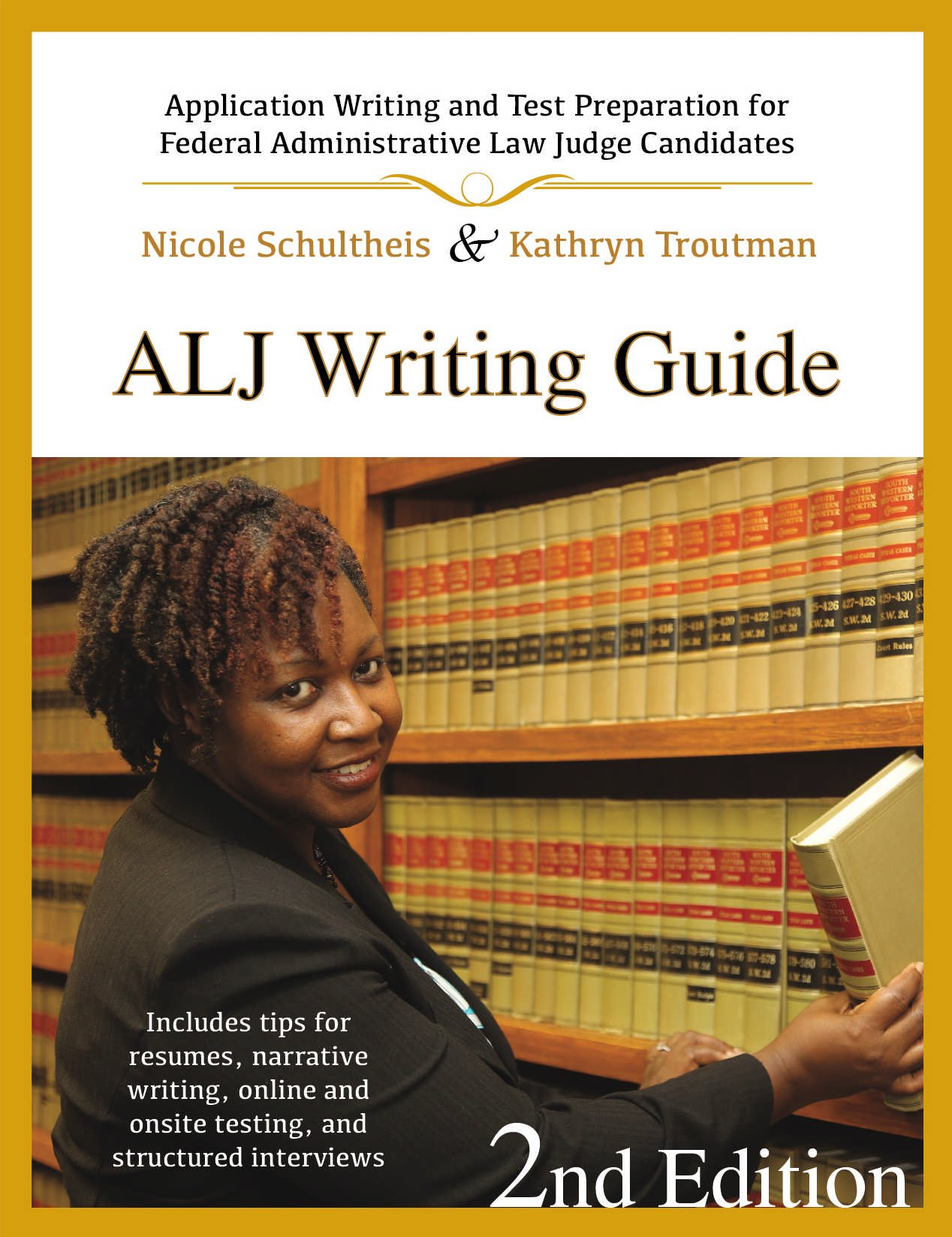 alj writing guide application writing and test preparation for