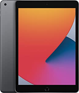 New Apple iPad (10.2-inch, Wi-Fi, 128GB) - Space Gray (Latest Model, 8th Generation) (Renewed)