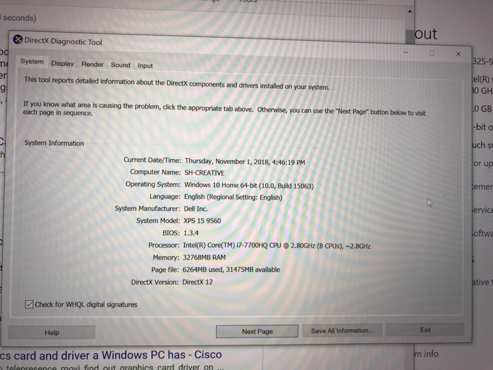 Dell Xps 9560 Bios