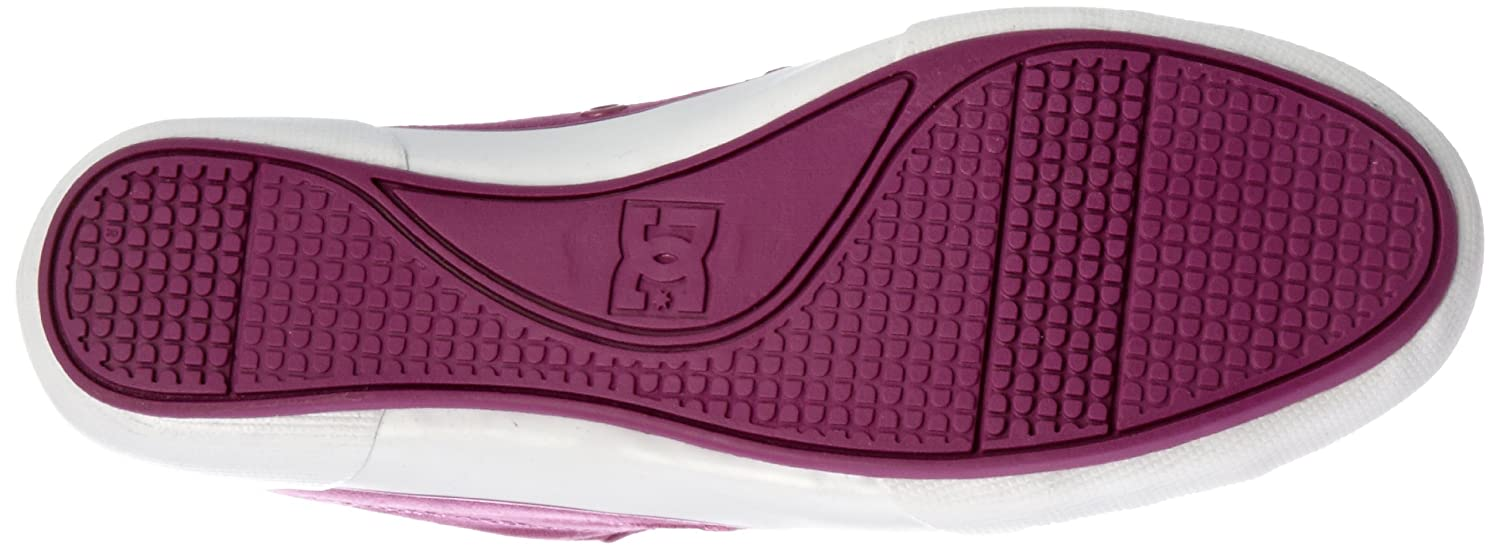 DC Shoes Chelsea Zero Low Womens Shoe D0302649 - Zapatillas de tela para mujer, Morado, 43