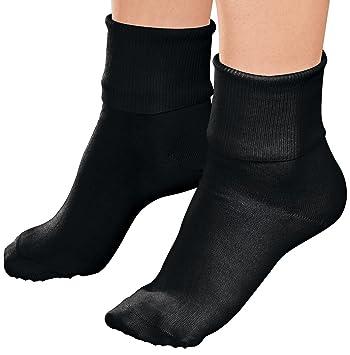 Buster Brown Ankle Socks - Black - Large