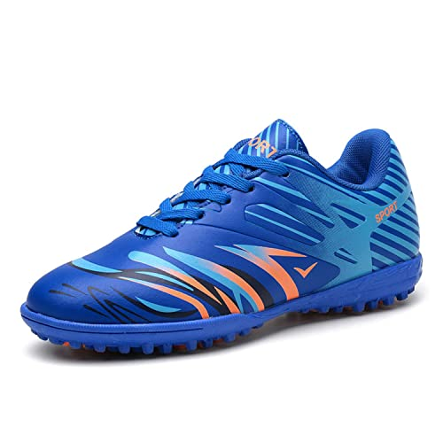 WOWEI Zapatos de Fútbol Aire Libre Profesionales Atletismo Training Botas  de Fútbol Adolescentes Adultos Zapatos de Deporte EU 32-45  Amazon.es   Zapatos y ... 3d1a808e59630