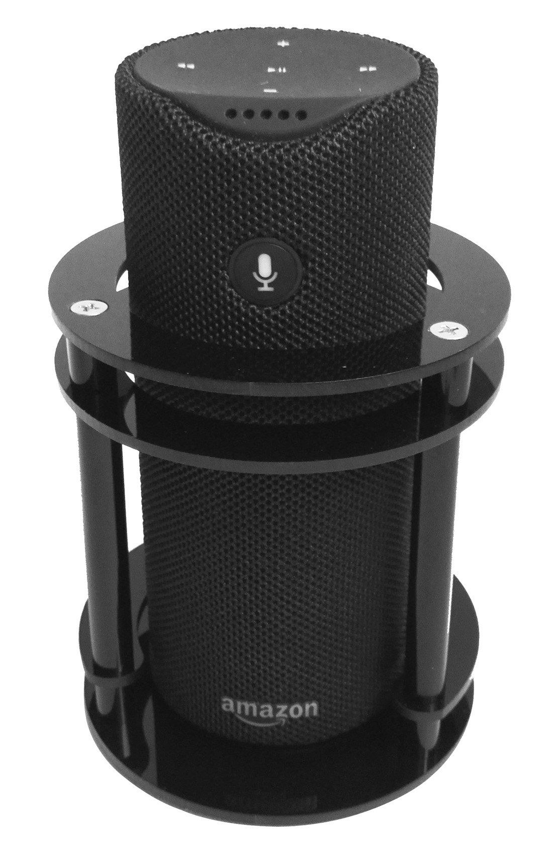 FitSand(TM Speaker Guard Stand Station Holder for Amazon Tap - Black