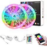 Nexlux LED Strip Lights, WiFi Wireless Smart Phone Controlled 65.6ft Non-Waterproof Light Strip LED Kit 5050 LED Lights…