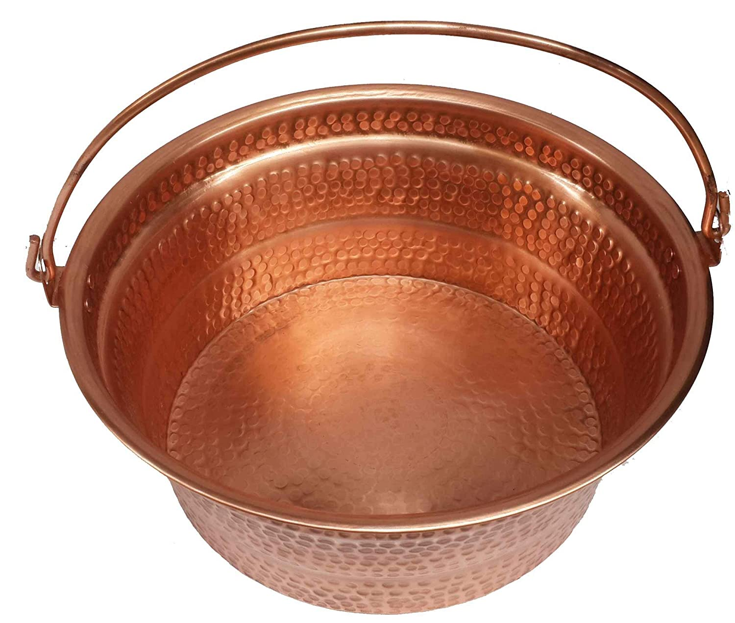 Egypt gift shops Traditional Shiny Bright Polished Finish Pure Natural Copper Garden Flowers Pots Petite Foot Rub Bucket Pedicure Massage Beauty Salon Mental Physical Health Skin Care Pan