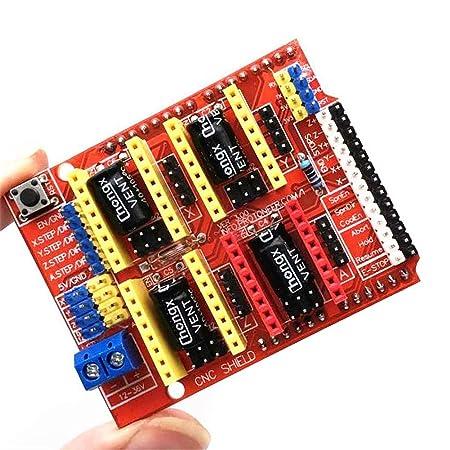 Placa de extensión DIY Kit Práctico Módulo Impresora 3D Accesorios ...