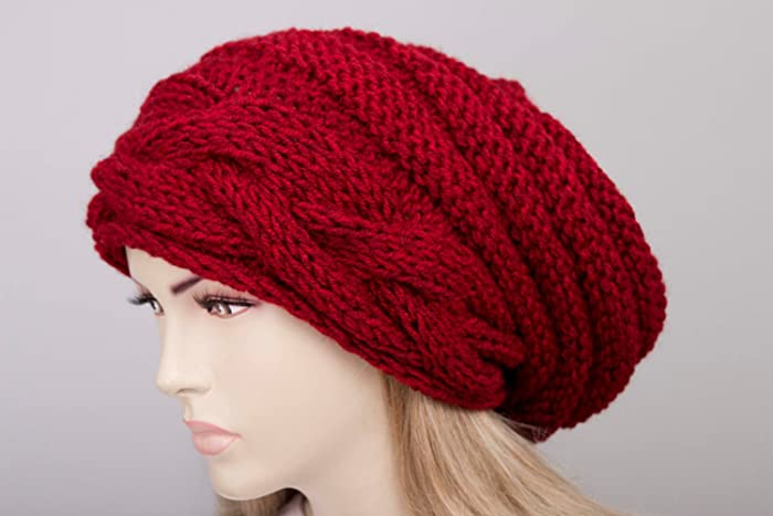 Amazon Slouchy Hat Chunky Slouchy Winter Hat Slouchy Beanie