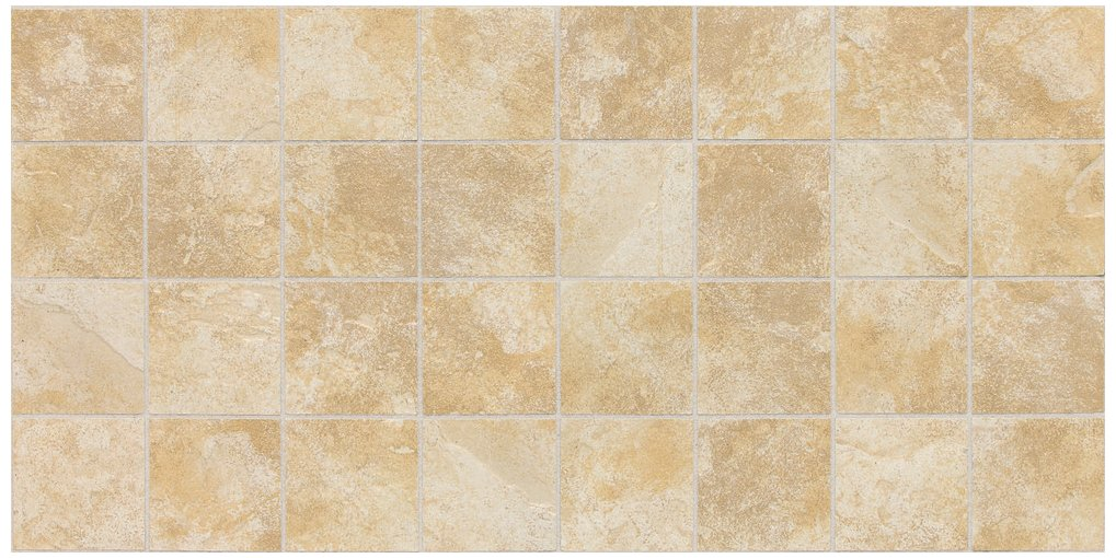 Dal-Tile 33MSCER1P2-CS54 CONTINENTAL Slate Tile,, 3'' x 3'',, Persian Gold