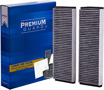 S8 2007-2009 RS7 2014 S6 2007-2011 R8 2008-2015 ECOGARD XC25760C Premium Cabin Air Filter with Activated Carbon Odor Eliminator Fits Audi A6 Quattro 2005-2011 A6 2006-2011