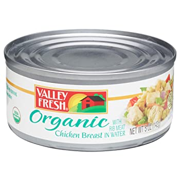 Valley Fresh 5 oz. 4 Cans Canned Chicken