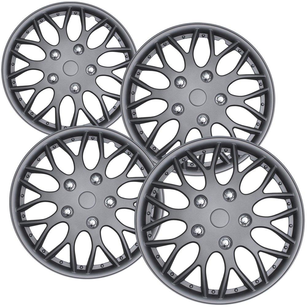 Amazon.com: Tapones para ruedas estándar de acero ...