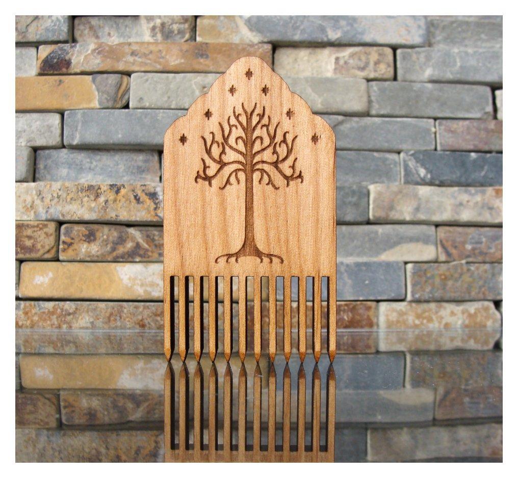 Tree of Gondor Wood Comb