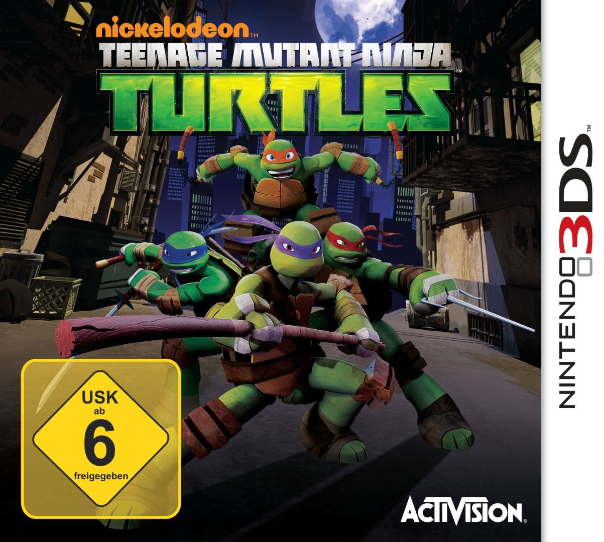 Teenage Mutant Ninja Turtles [Importación Alemana]: nintendo ...