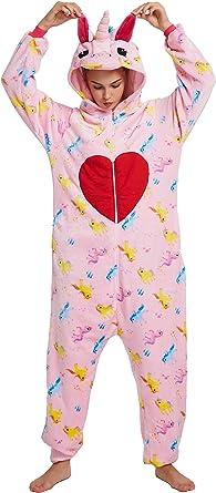 Chichidog Pijama de unicornio para Halloween, ropa para el hogar, disfraz de cosplay